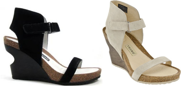 As the gal who just bought not one, but TWO pairs of wedges - the black and the bone colours- I'm mildly interested in this survey