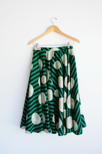 Vintage circle skirt, $69 at Lethilogica