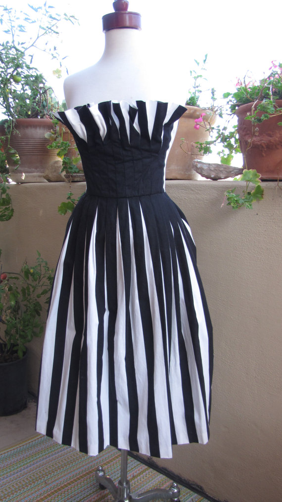 Vintage 1960s pleated cocktail dress, $240 at