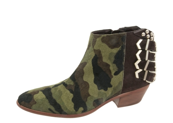 I'm probably going to spring for these because they're pony haired-camo-print boots that are cooler than anything else I've seen out there this season