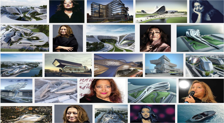 A quick scan of architect Zaha Hadid's work reveals how the Nova shoe is so very her