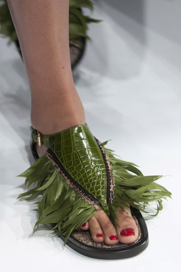 Schaparelli spring 2014 sandal