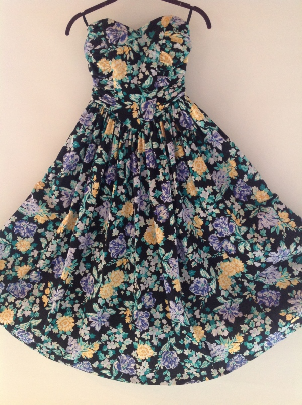 I'm selling this lovely vintage Laura Ashley dress (size 4) on my new Etsy shop! More to come.. this beaut is listed at $135